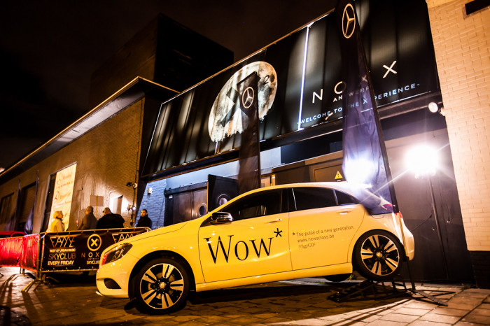Mercedes A brand activation