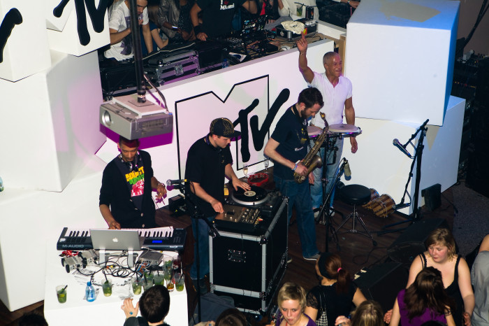 MTV Party Noise in Claridge Brussel