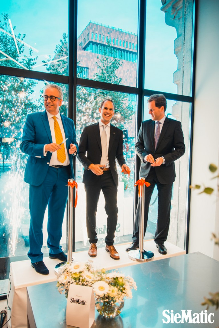 Opening SieMatic Flagshipstore