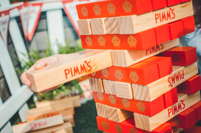 Pimm's rooftop launch