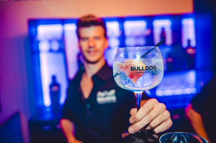 Brand activation – Bulldog gin