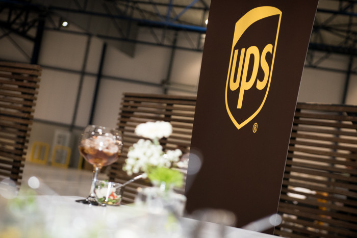 Opening UPS logistic center