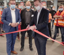 Inauguration Delhaize Luxembourg
