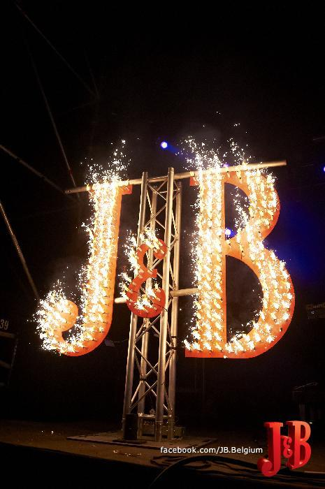 J&B brand activation op Casablanca festival