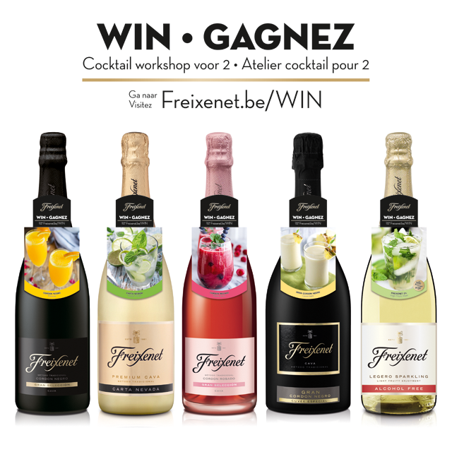 Freixenet Cocktail win-action